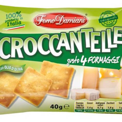Un nuovo gusto per le Croccantelle di Forno Damiani