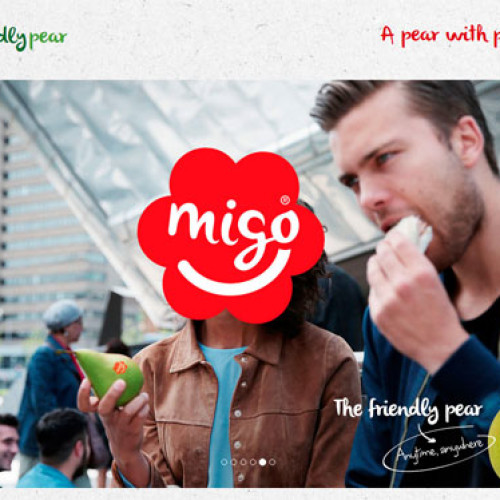 Dopo la mela arriva Migo®, la pera on-the-go