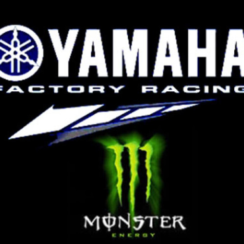 Monster Energy sponsor Yamaha
