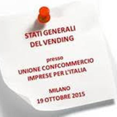 Stati Generali del Vending – Milano 19/10/2015