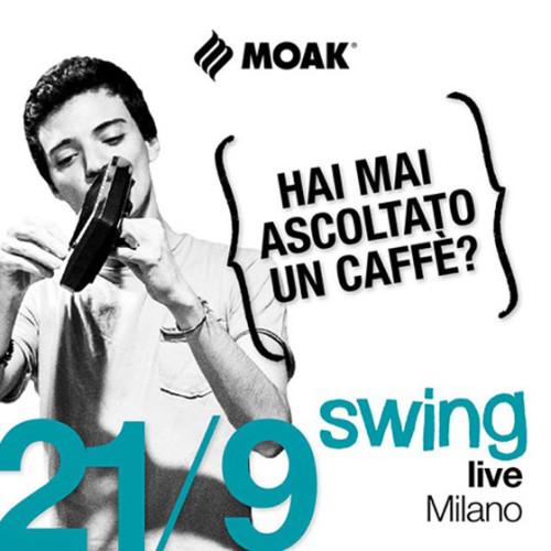 Caffè Moak in tour con My Music Coffee