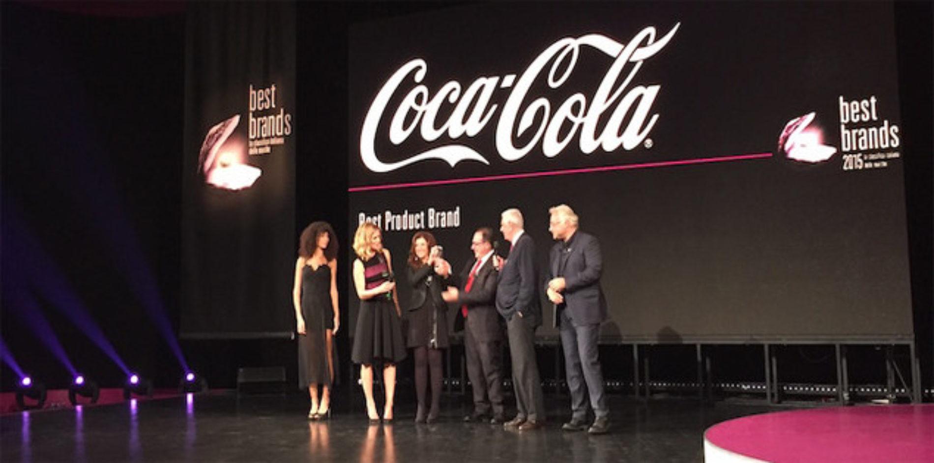 Coca-Cola è Best Brands Product Italia 2015