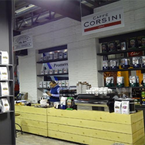 Caffè Corsini alla fiera Marca di Bologna