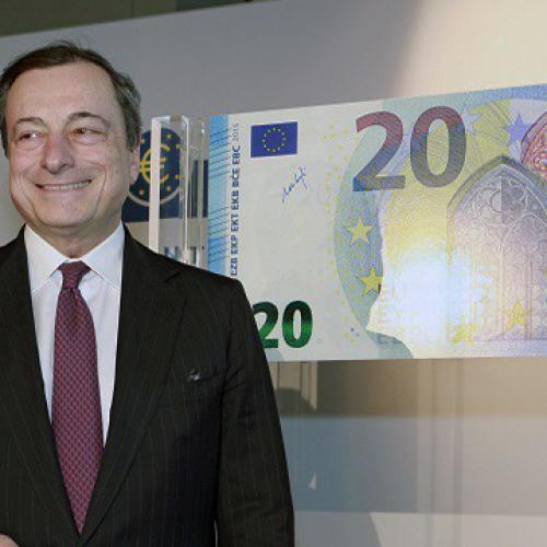 In circolazione da oggi 25 novembre la nuova banconota da 20 euro