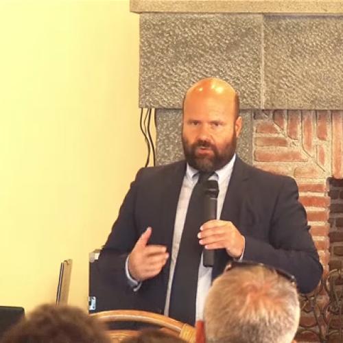 """Catania. Evento """"Il vending del futuro"""". Intervento del dott. M. Evolvi"""