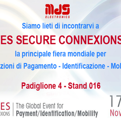 MDS Electronics al Cartes Secure Connexion 2015 di Parigi