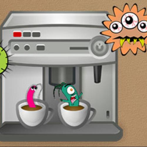 Allarme batteri nelle macchine per caffè a cialde