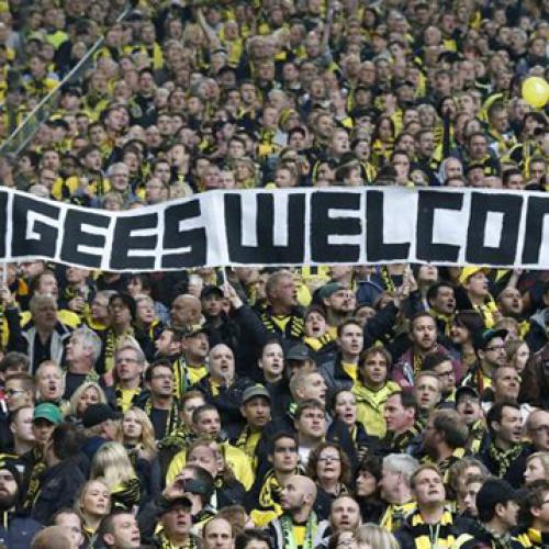 Brita supporta i profughi rifugiati nei pressi del quartier generale