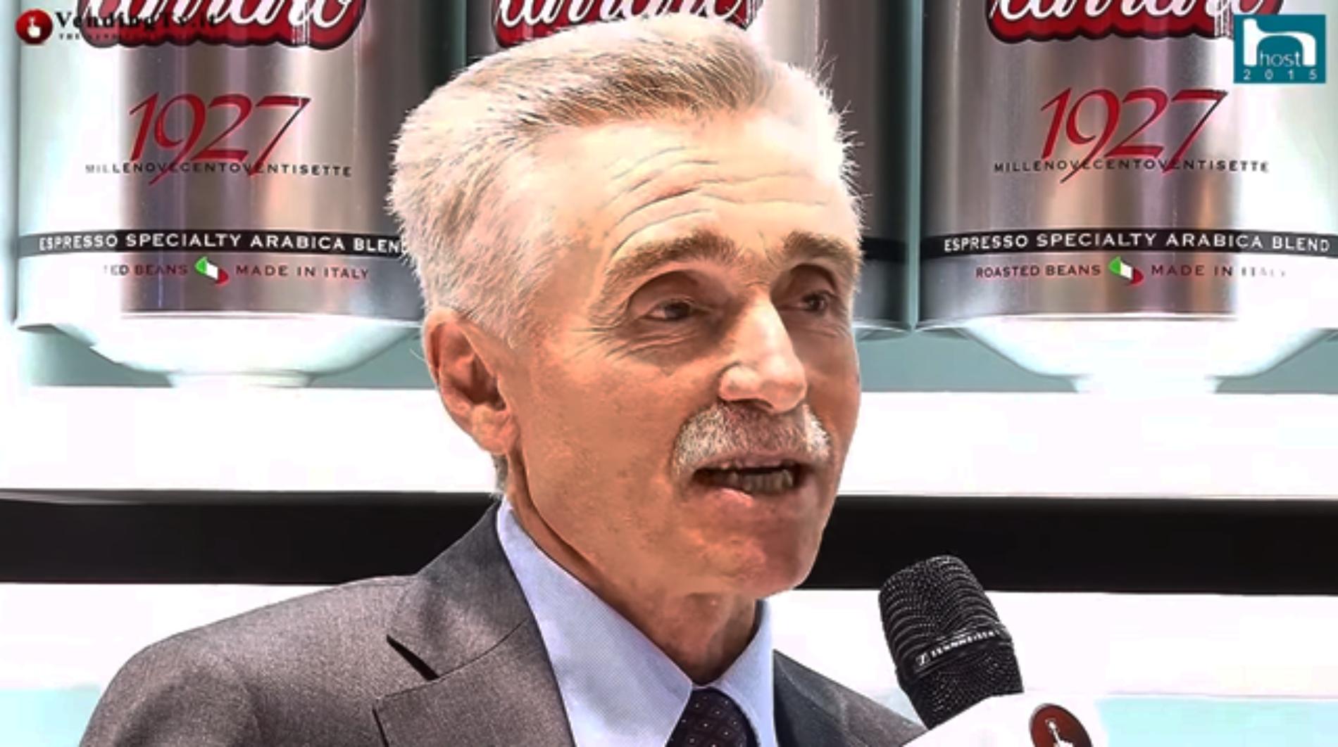 HOST 2015 – Intervista col dott. Giuseppe Zanandrea di Caffè Carraro