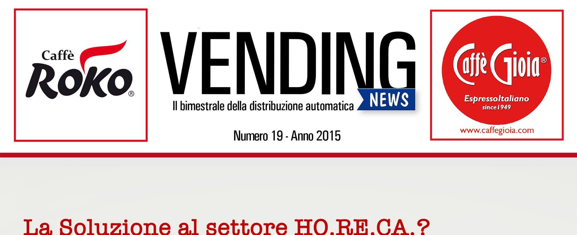 Rivista Vending News – Leggi il numero 19