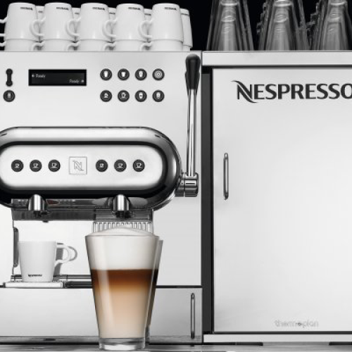 Nespresso al SIGEP con Aguila 220
