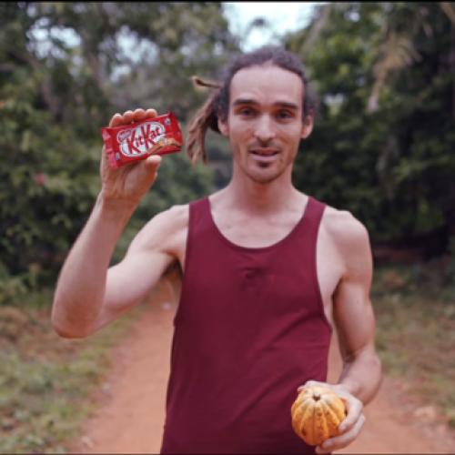 KitKat primo marchio Nestlè con cacao 100% sostenibile