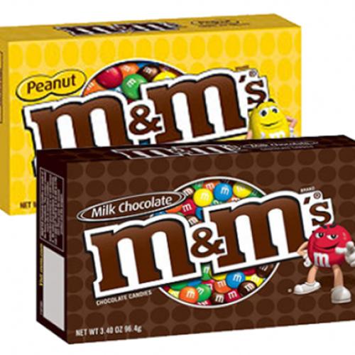 Le M&M's in scatola da viaggio conquistano l'Europa