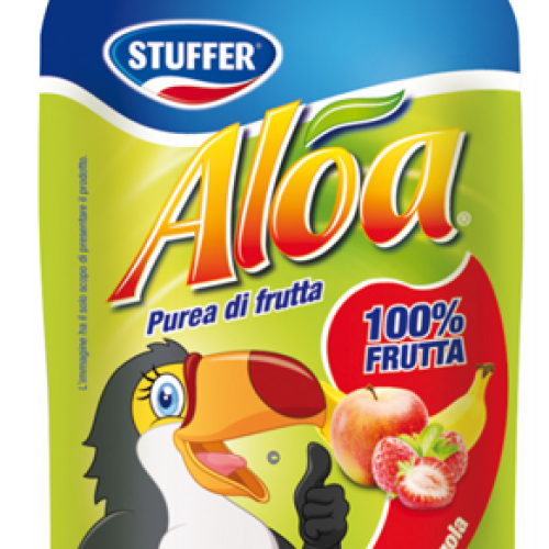 Stuffer lancia la novità Aloa alla frutta