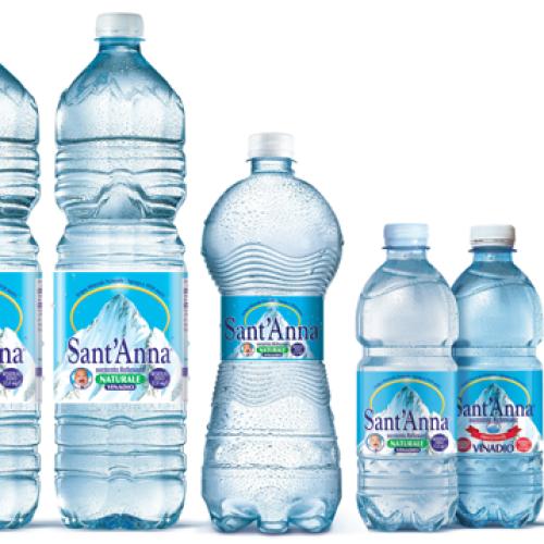 Acqua Minerale Sant'Anna a Dubai per Gulfood