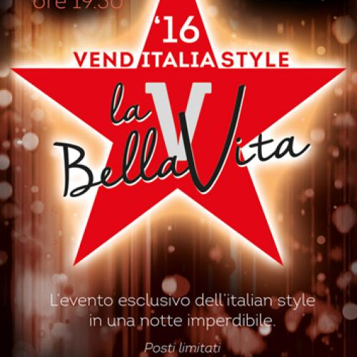 Venditalia 2016 – Serata di gala all'insegna dell'Italian Style