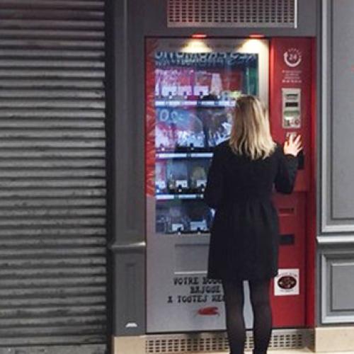 """Il distributore automatico di carne fresca diventa un """"caso"""""""