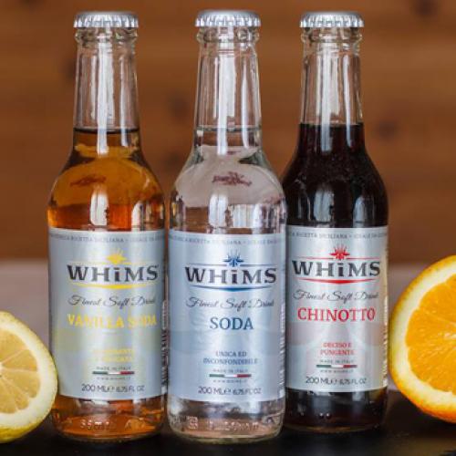 Whims: la bibita di oggi con gli ingredienti di un tempo