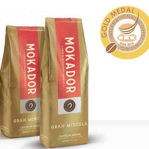 Mokador caffè da Medaglia D'Oro