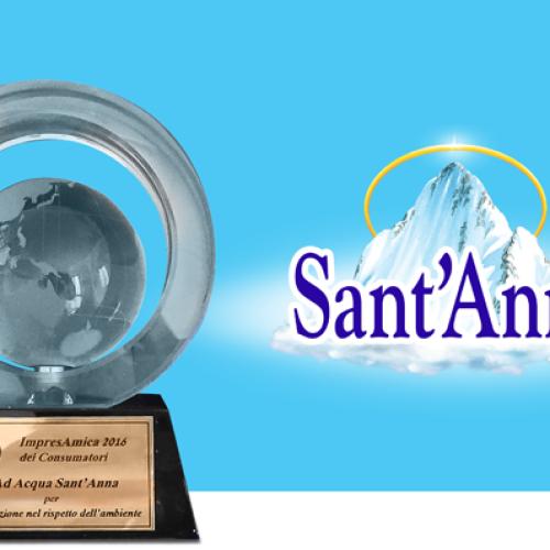 I consumatori premiano Sant'Anna Bio Bottle