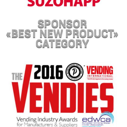 SUZOHAPP sponsor a The Vendies 2016