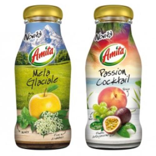 Due nuovi gusti per i succhi Amita