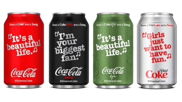 coca-cola canzoni