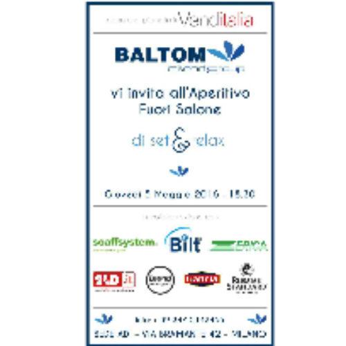 Baltom by Night – Aperitivo Fuori Salone Venditalia