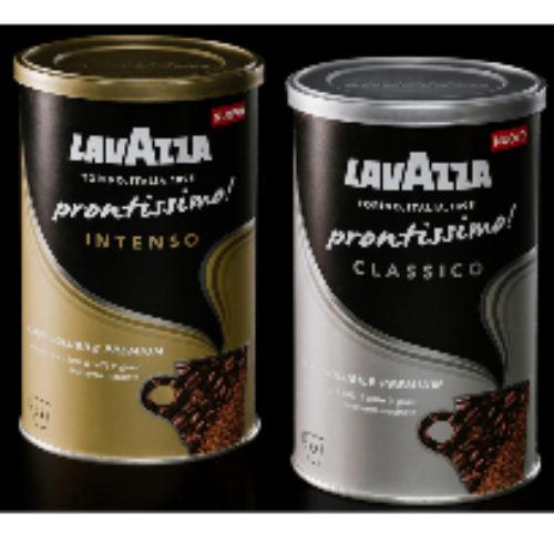 Lavazza lancia il caffè solubile Prontissimo!