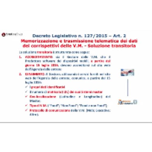 CONFIDA/Agenzia Entrate: linee guida sui corrispettivi