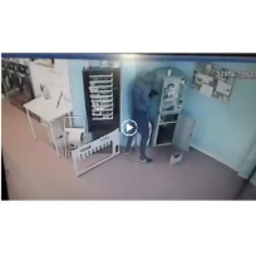 Aiutiamolo ad individuare il ladro! (Video)