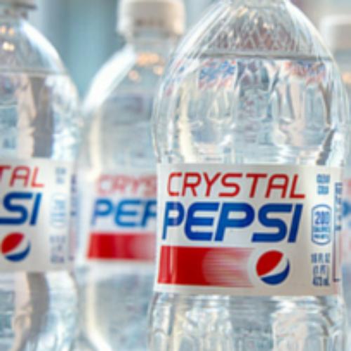Ritorna la mitica Pepsi Crystal