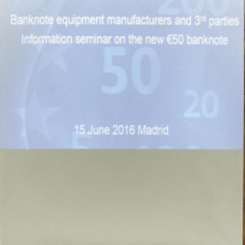 SUZOHAPP e SCAN COIN al meeting BCE per i nuovi € 50
