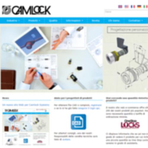 Nuovo sito web per Camlock Systems