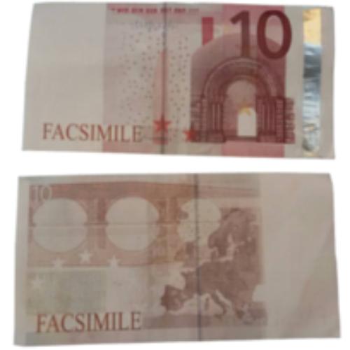 Attenzione: euro facsimile nei distributori automatici!