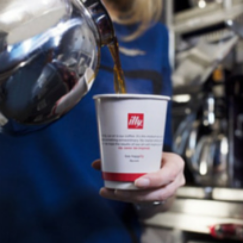 Illy in partnership con United Airlines