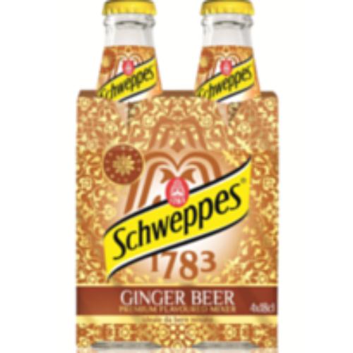 Schweppes presenta Ginger Beer