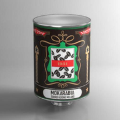 Un nuovo barattolo in latta per Mokarabia