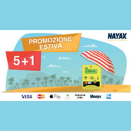 Promozione Nayax estate 2016