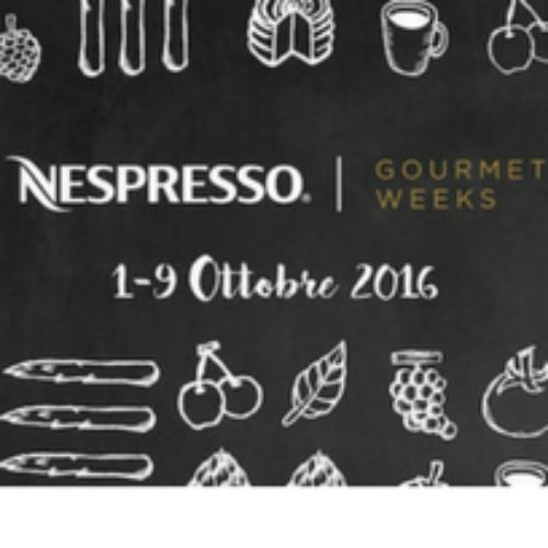 Arrivano in Italia le Nespresso Gourmet Weeks