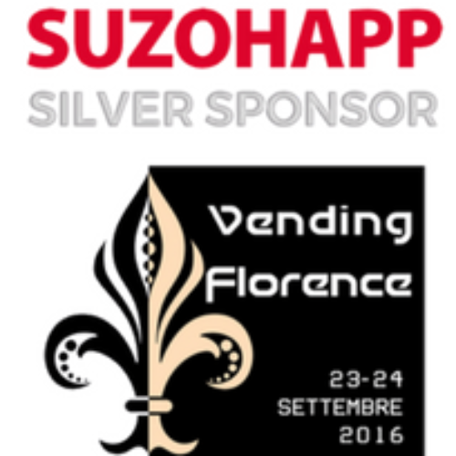 SUZOHAPP Silver Sponsor a Vending Florence
