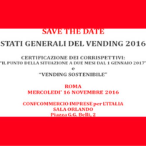 CONFIDA – Stati Generali del Vending 2016