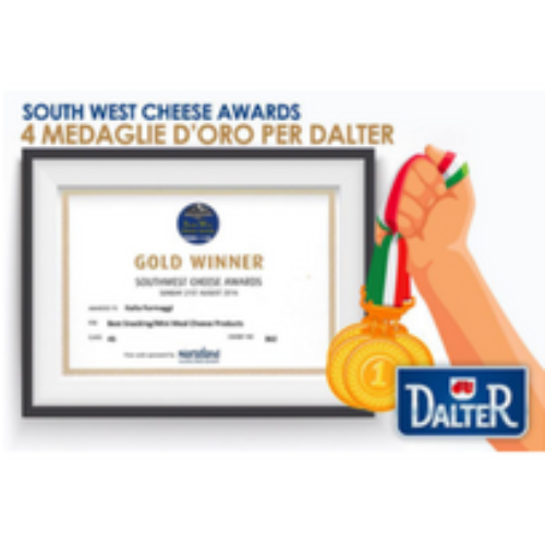 Dalter pluripremiata ai South West Cheese Awards
