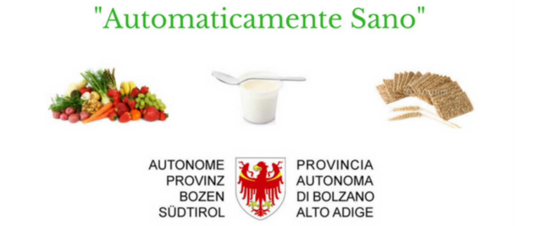 """Parte a Bolzano il progetto """"Automaticamente sano"""""""