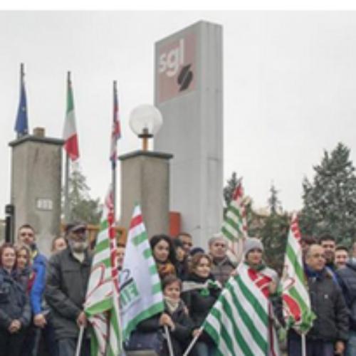 Stato di agitazione alla SGL Italia