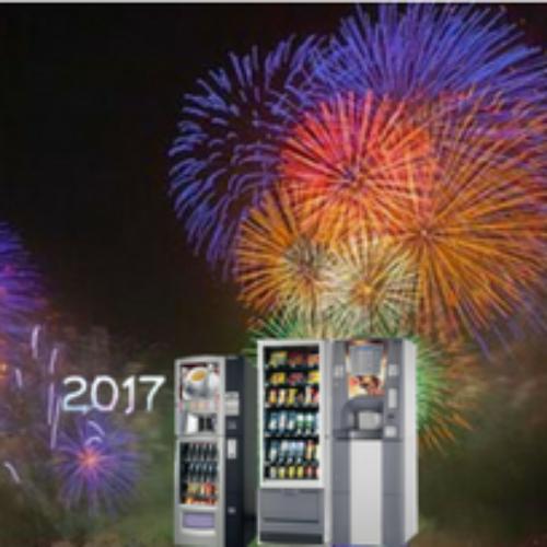 Festeggia il Capodanno ai distributori automatici