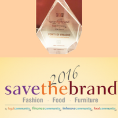 "Gruppo Sant'Anna premiato a ""Save the Brand"""