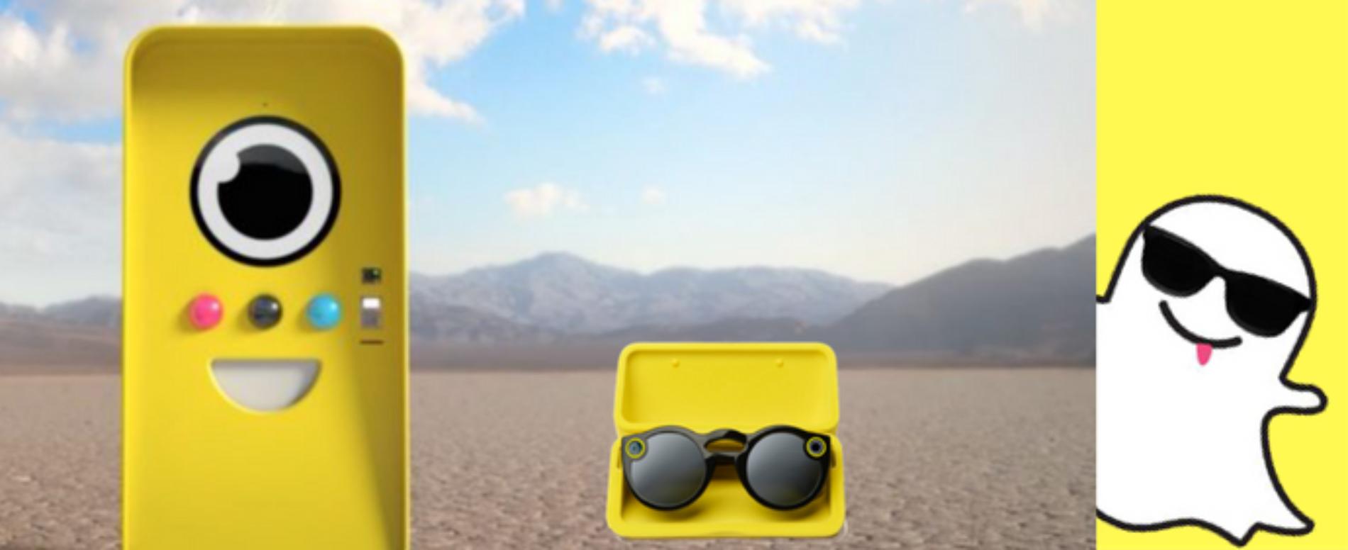 Tutti pazzi per la Snapchat vending machine!