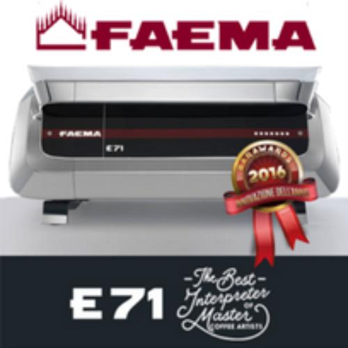 La Faema E71 vince i Barawards 2016 per l'innovazione