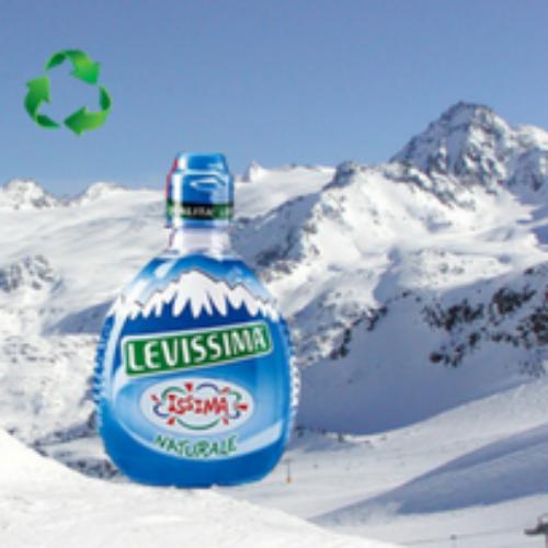 Le piste da sci e Levissima insieme per il riciclo